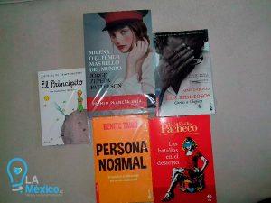 Libros donados por L.A. México