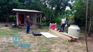 Donación de viviendas temporales