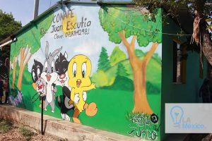 Entrega de libros en Primaria Juan Escutia
