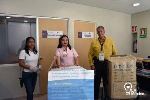 Lee más sobre el artículo Donación Cubrebocas y Guantes Hospital «Dr. Jesús Gilberto Gómez Maza»
